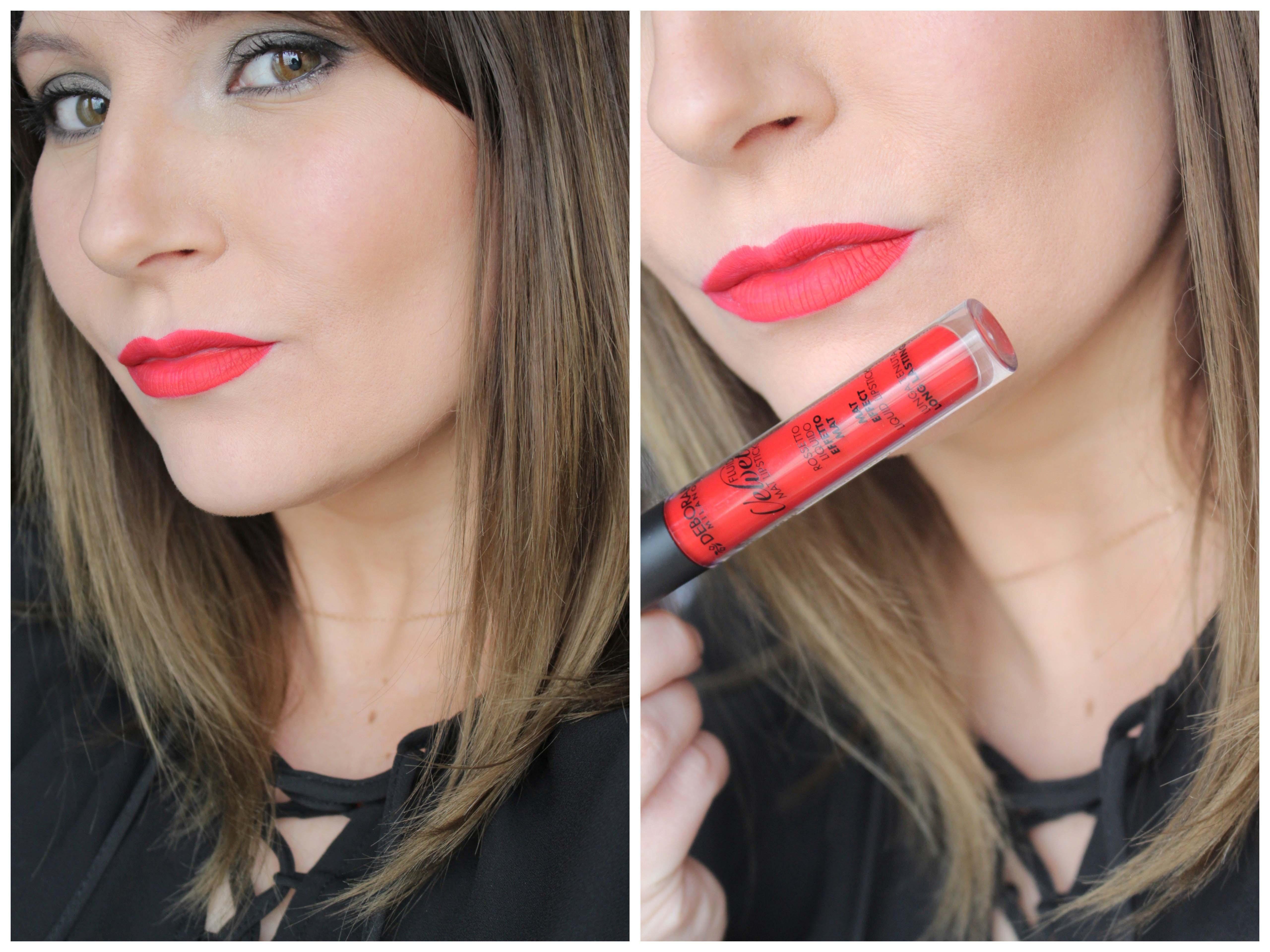 Fluid Velvet Mat Lipstick #07| Deborah Milano
