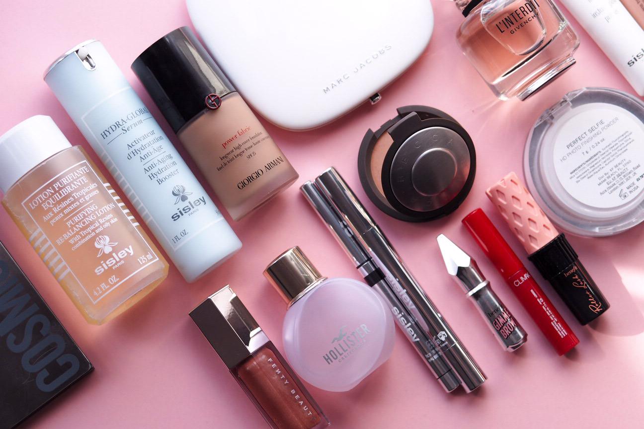 Ulubione perfumy, kosmetyki do makijażu i pielęgnacji - wrzesień 2018
